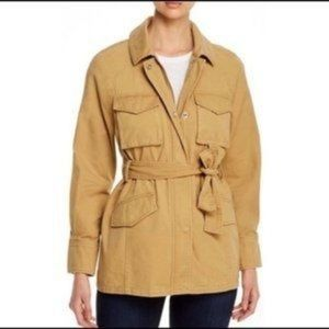 7 For All Mankind Belted Utility Field Jacket Coat